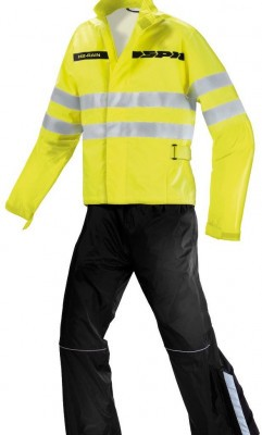 Мотодождевик Spidi H2 Life Rain Black Yellow Fluo