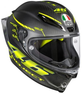 Мотошлем AGV Pista GP Top W Project 46 2.0 Carbon Matt