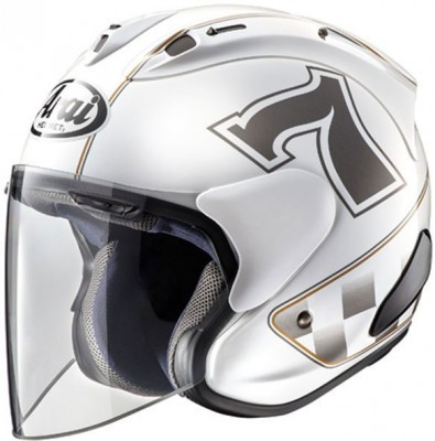 Мотошлем Arai SZ-Ram X, цвет Cafe Racer White