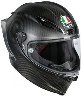 Мотошлем AGV Pista GP R Solid Matt Carbon
