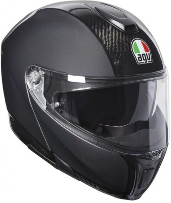 Мотошлем AGV Sportmodular Solid Carbon/Dark Grey