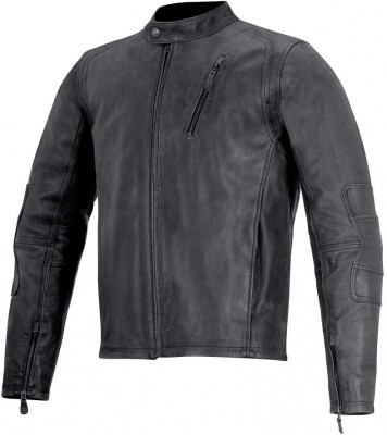 Кожаная мотокуртка Alpinestars Monty Leather Jacket Black