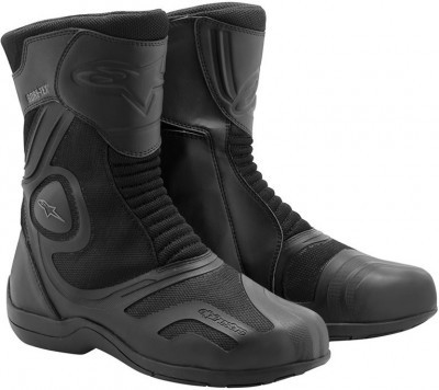 Мотоботы Alpinestars Air Plus Goretex XCR Black