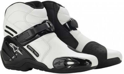 Мотоботы Alpinestars S-MX 2 White Black