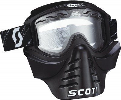 Очки Scott 83X SAFARI FaceMask Black/Clear