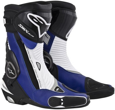 Мотоботы Alpinestars S-MX Plus Black/Blue/White