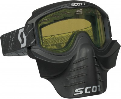 Очки Scott 83X SAFARI FaceMask Black/Yellow