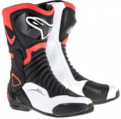Мотоботы Alpinestars SMX-6 V2 Black/Red/White