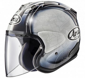 Мотошлем Arai SZ-R Vas, цвет Harad Tour White