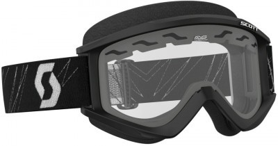 Очки Scott RecoilXi Snow Cross Safari Black/White Clear