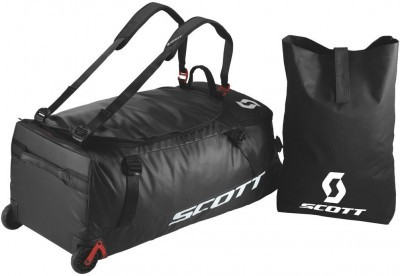 Сумка Scott Wheel Duffle 110 Black/Red Clay