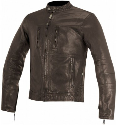 Кожаная мотокуртка Alpinestars Brass Leather Tobacco Brown