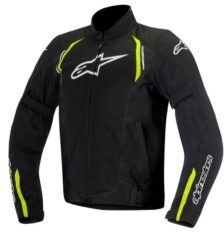 Мотокуртка Alpinestars Ast Air Black/Yellow Fluo