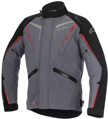 Мотокуртка Alpinestars Yokohama Drystar Gray/Black/Red