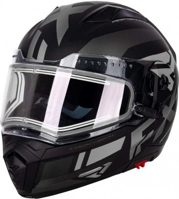 Шлем для снегохода FXR Maverick Modular Team Helmet W/E Shield Black Ops
