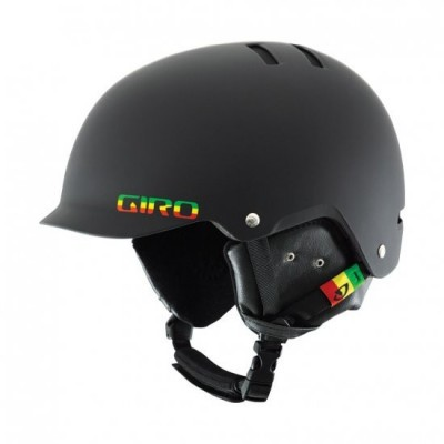 Шлем для сноуборда Giro Surface S Matte Black Rasta