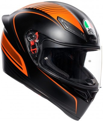 Мотошлем AGV K1 Multi Warmur Matt Black/Orange
