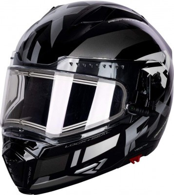 Шлем для снегохода FXR Maverick Modular Team Helmet W/E Shield Black/Char/White