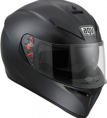 Мотошлем AGV K-3 SV Solid Matt Black