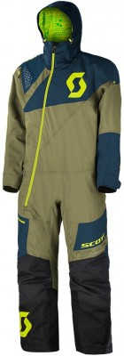 Комбинезон Scott Monosuit DS Covert Green/Midnight Blue