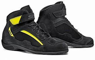 Мотоботы Sidi Duna Black/Yellow