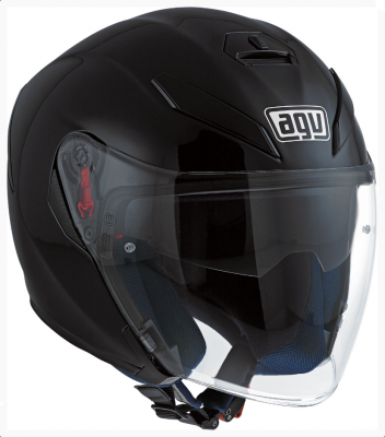 Мотошлем AGV K-5 Jet Solid Matt Black