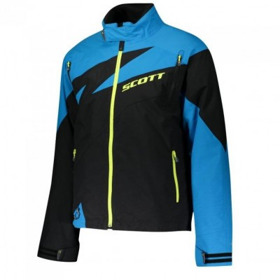 Куртка Scott CompR Black/Blue Jewel