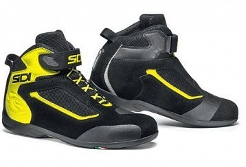 Мотоботы Sidi Gas Black/Yellow