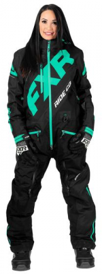 FXR Комбинезон CX INSULATED MONOSUIT WOMAN Bkack/Mint