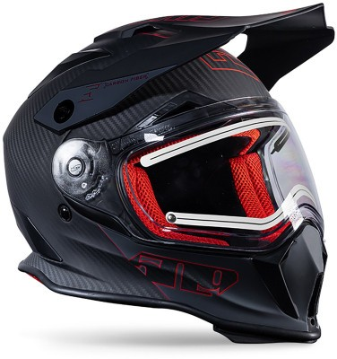 Шлем 509 Delta R3 Carbon Fidlock Red