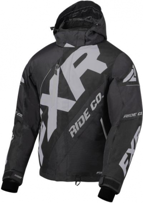 FXR Куртка CX Jacket Black/Lt Grey
