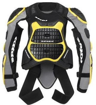 Моточерепаха Spidi Defender Armor 145-160 Black Yellow