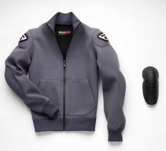 Мотокофта Blauer Easy  Man 1.0 серая