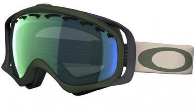 Маска Oakley Crowbar Surplus Green (Emerald Iridium)